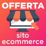 Offerta sito e-commerce professionale
