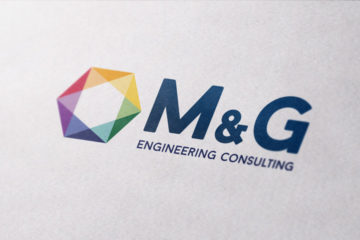 Logo design cliente: M&G engineering consulting anno: 2015
