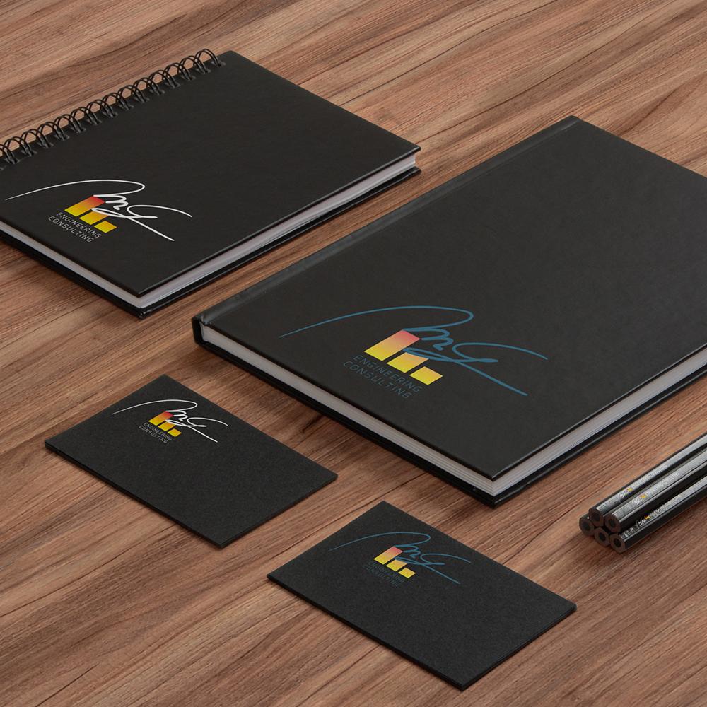 Logo design cliente: M&G engineering consulting anno: 2015