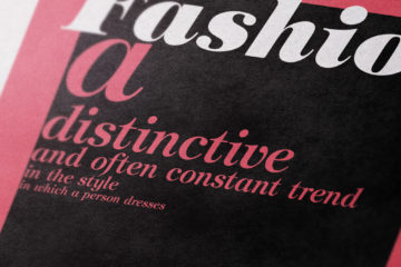 Impaginazione Libro - Book Fashion History and Trends
