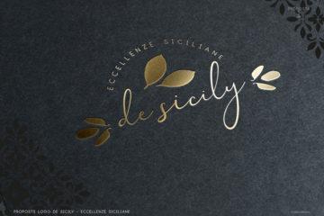 Logo design - desicily - presentazione logo