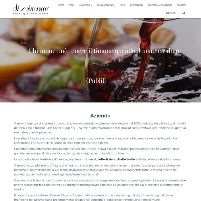 Web design sito responsive, multilingua, SEO, mappa interattiva e moduli di contatto e iscrizione alla newsletter