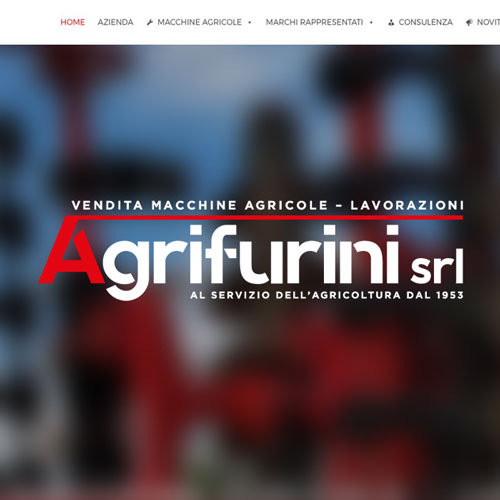 Sito web responsive per Agrifurini by studiolifestyle.it